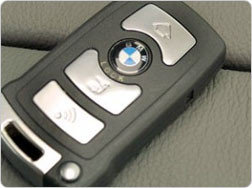 Llave inteligente de BMW