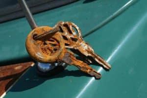 Llaves oxidadas