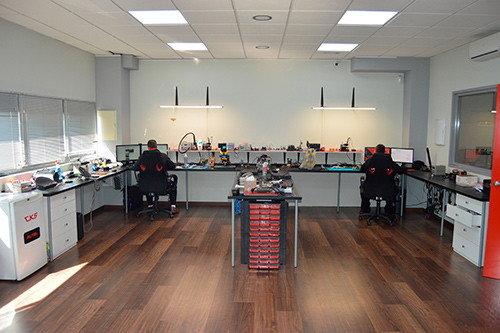 CARKEY Sevilla laboratorio