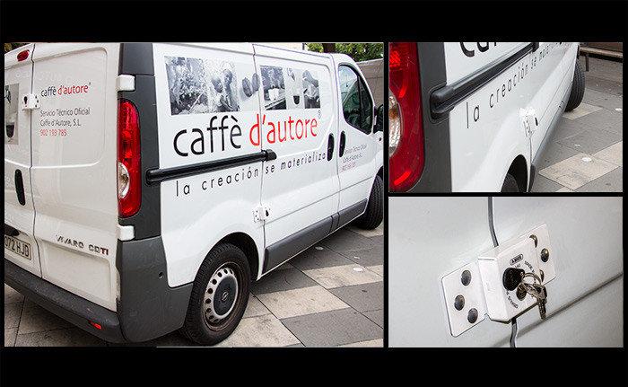 Cerraduras de seguridad para furgonetas car key system - Coches con puertas correderas ...