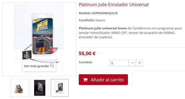 Comprar Julie Inmo emulador