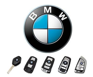 Llaves de modelos de BMW